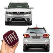 Kit Emblemas Maçaneta Fiat Freemont Dianteiro Traseiro