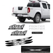 Kit Frontier 4x4 Off Road Automatic 09/ + Soleira Black Over