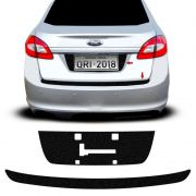 Kit Protetor Porta-Malas New Fiesta 2011/2014  + Fundo De Placa