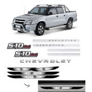 Kit S10 Executive Turbo Eletronic 4x4 + Soleira da Porta