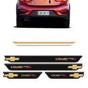 Kit Soleira Black Over + Friso Cruze Sport6 Turbo Gold 17/18