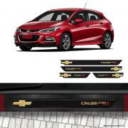 Kit Soleira da Porta Cruze Sport 6 Turbo Gold Com Black Over