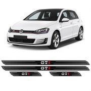Kit Soleira Da Porta Diamante Golf Gti 2014/2018 Resinada