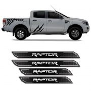 Kit Soleira Da Porta Diamante Ranger Raptor 2013/2019 Resinada