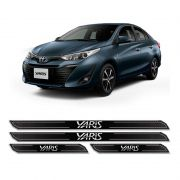 Kit Soleira Da Porta Diamante Yaris Hatch Sedan 2018/2019