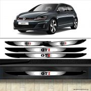Kit Soleira Da Porta Golf Gti 2014/2019 Com Black Over Resinado