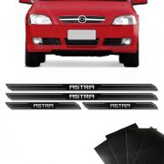 Kit Soleira Diamante Astra Hatch Sedan Com Protetor De Porta