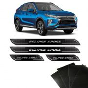 Kit Soleira Diamante Eclipse Cross 2019 E Protetor de Porta