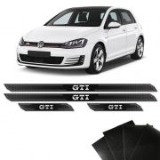 Kit Soleira Diamante Golf Gti Vw 14/18 E Protetor De Porta