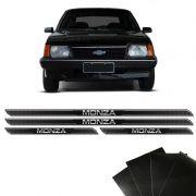 Kit Soleira Diamante Monza 1982/1996 Com Protetor De Porta