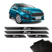 Kit Soleira Diamante New Fiesta Hatch Sedan Com Protetor