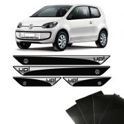 Kit Soleira Up! Volkswagen 2014/2019 E Adesivo Protetor de Porta
