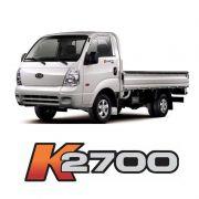 Par de Adesivos K2700 KIA Bongo Portas Caminhão