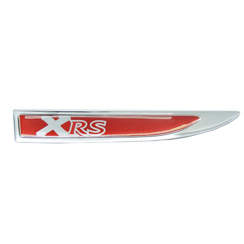 2 Protetores Paralama Corolla Xrs Vermelho Aplique Resinado