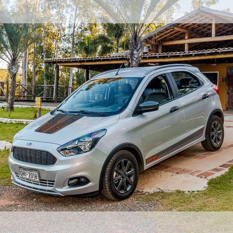 Adesivo Do Capô Ford Ka Trail 2018 Acessório Personalizado