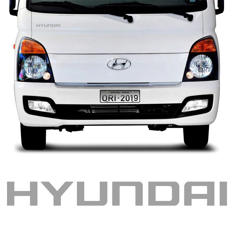 Adesivo Do Capô Hyundai Hr Caminhão Emblema Modelo Original