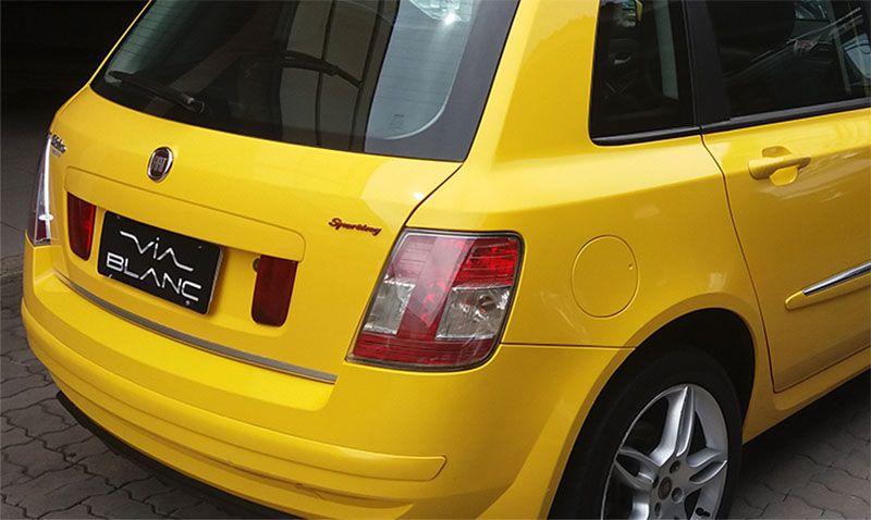 Adesivo Emblema Sporting Resinado Fiat Punto e Stilo