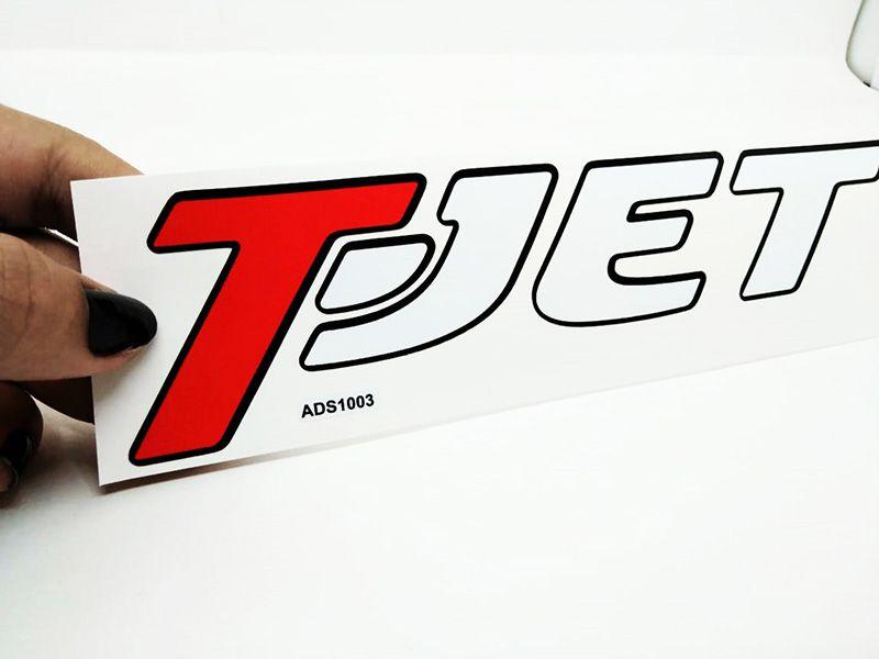 Par Adesivos T-Jet Punto, Bravo, Línea (porta)
