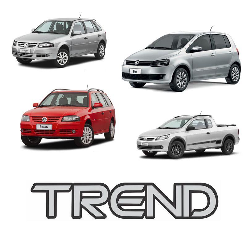 Adesivo Emblema Trend Gol, Parati, Saveiro e Fox G4