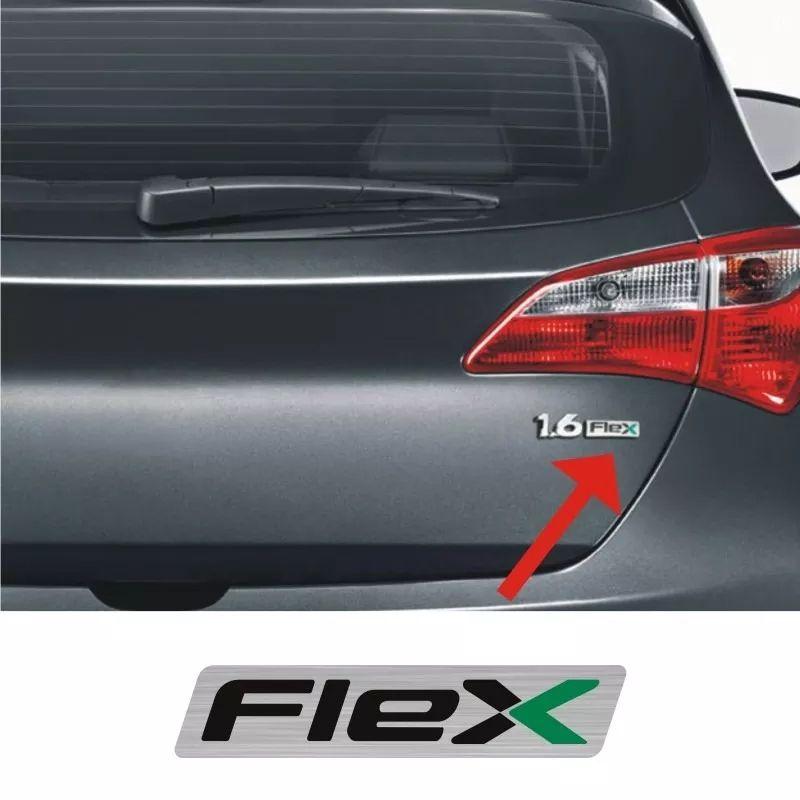 Adesivo Resinado Flex Da Tampa Traseira Hyundai Hb20 Emblema