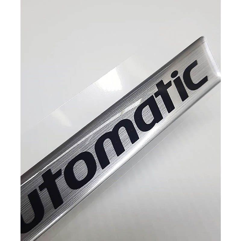 Adesivo Resinado Emblema Automatic Hb20 Elantra Ix35 Azera