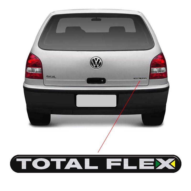 Adesivo Total Flex Gol G3 Vw Emblema Traseiro Resinado