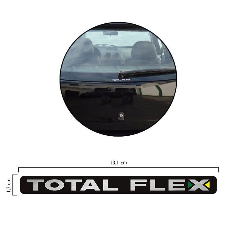 Adesivo Total Flex Volkswagen Gol G4 Vidro Emblema Traseiro