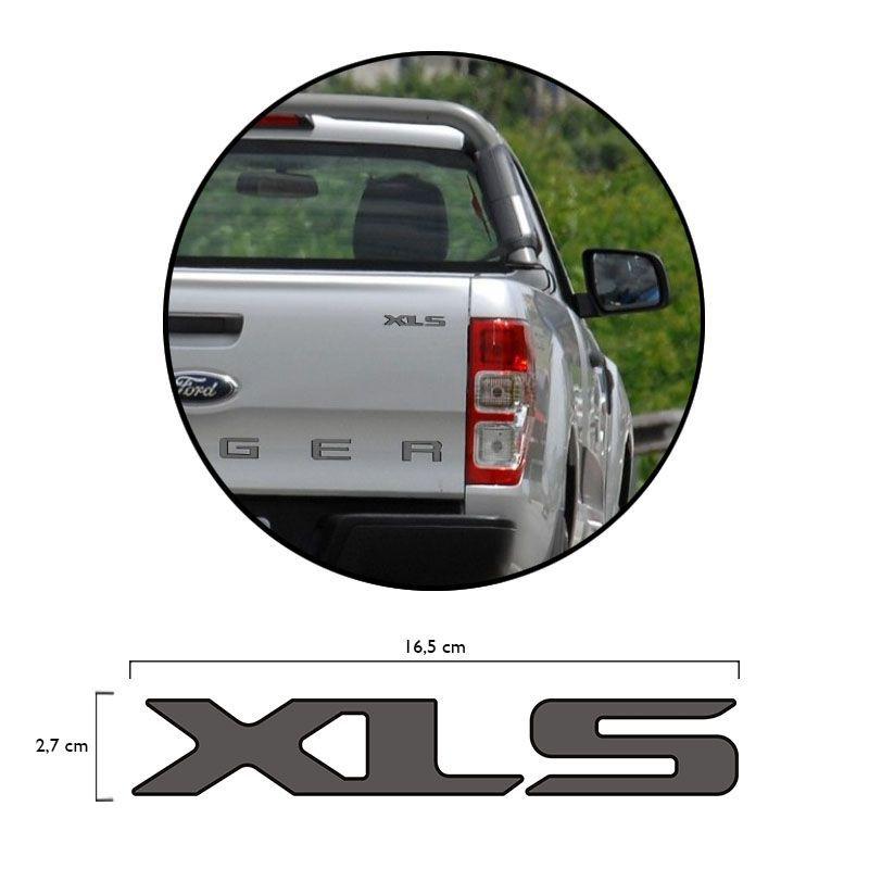 Adesivo Xls Ranger Cs Sport 2013 14 15 16 Emblema Grafite