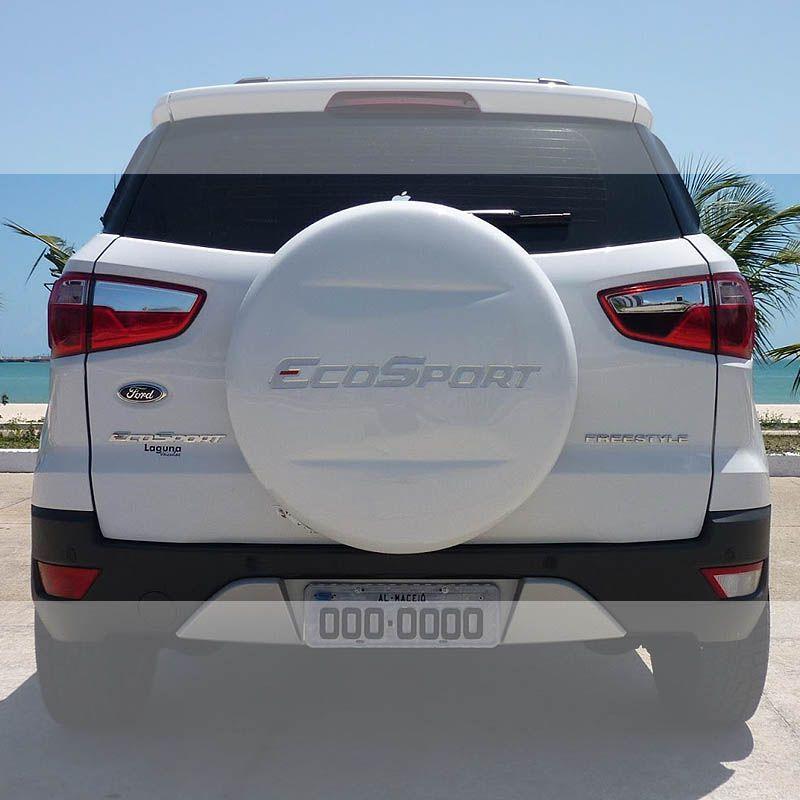 Emblema Ford Ecosport 2013/2014 Adesivo Capa Estepe Resinado