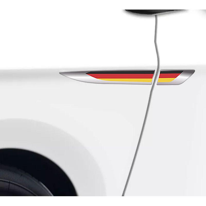 Emblema Resinado Aplique Lateral Alemanha Universal Par