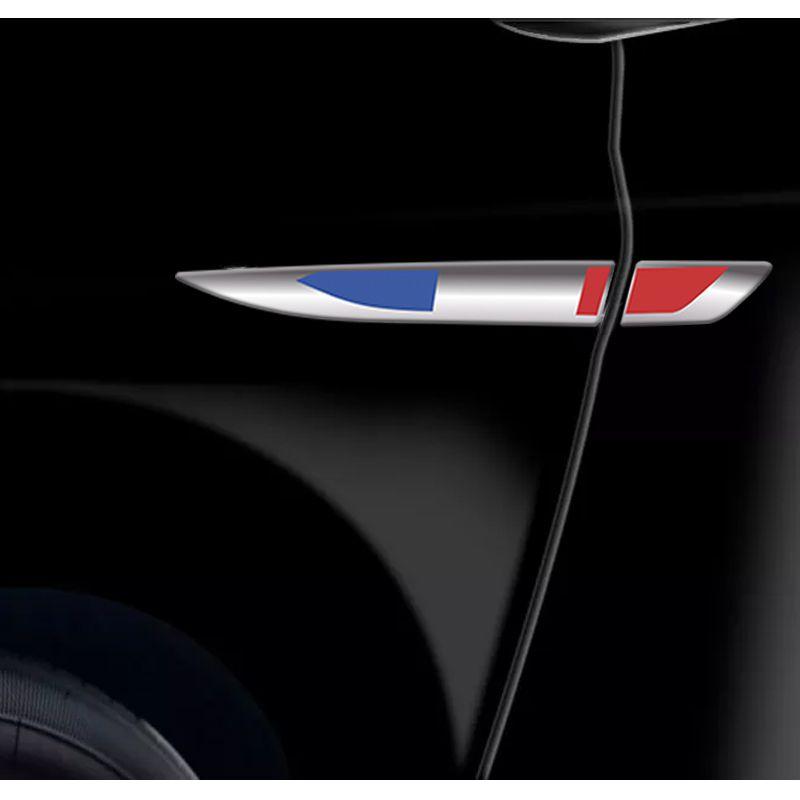 Emblema Resinado Aplique Lateral França Universal Par