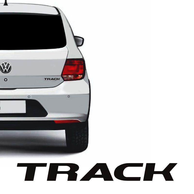 Emblema Track Gol E Voyage G6 2013 Até 2016 Adesivo Traseiro