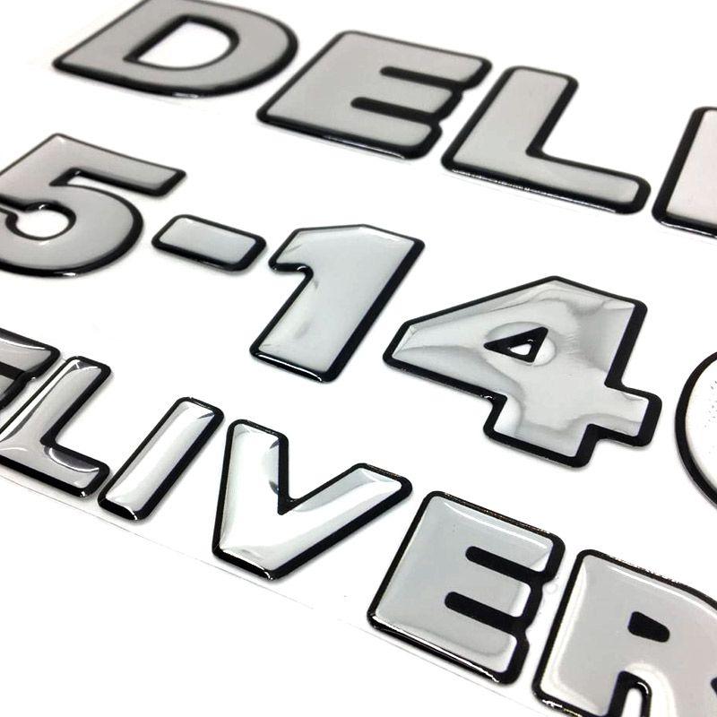 Emblemas 5-140 Delivery Volkswagen Adesivo Caminhão Cromado