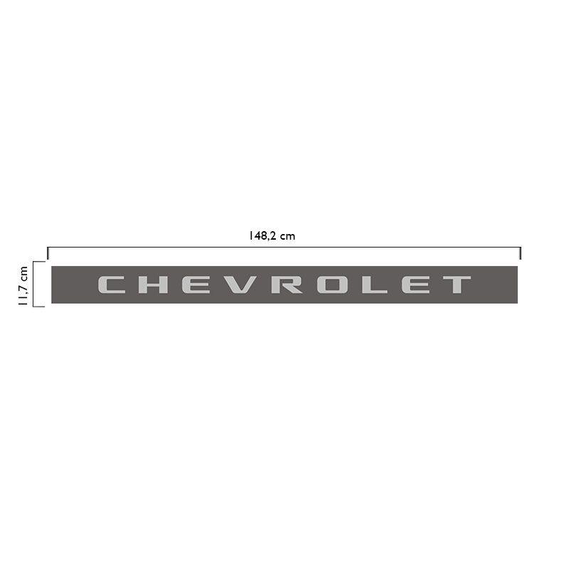 Faixa Chevrolet S10 Rodeio 2006/2008 Adesivo Tampa Traseira