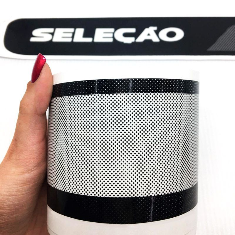 Faixa Fox Seleção 2014/15 Adesivo Decorativo Preto Completo