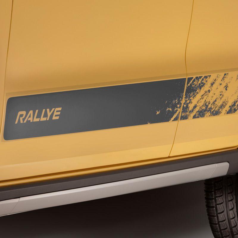 Faixa Gol Rallye G6 2015/2016 Adesivo Grafite Completo