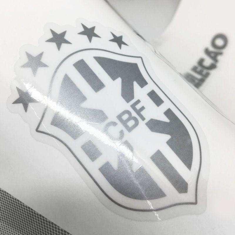 Faixa Gol Seleção 2013/2016 Adesivo Prata Modelo Original