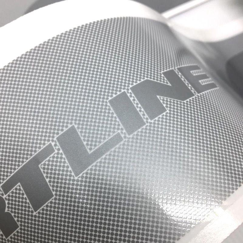 Faixa Polo Sportline 2014 Adesivo Prata Modelo Original