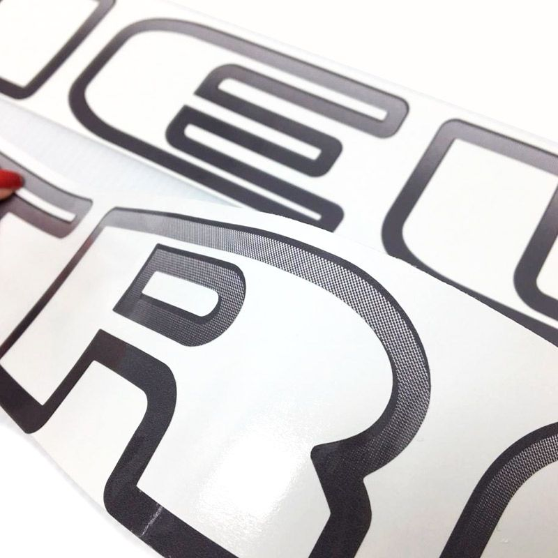 Faixa Track & Field Parati Adesivo Grafite Modelo Original