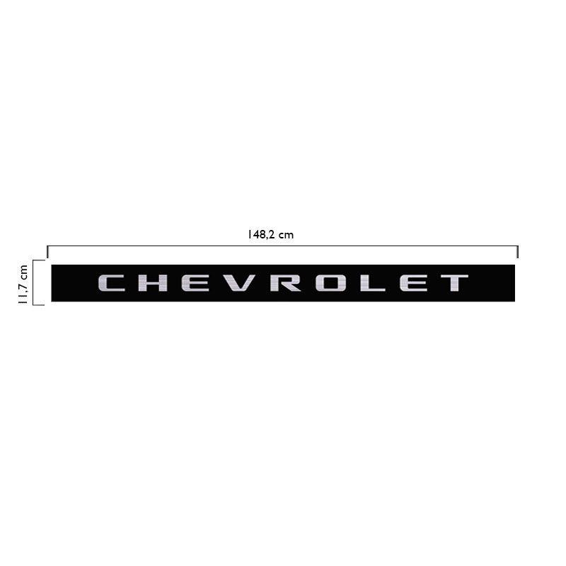 Faixa Traseira  Chevrolet S10 Rodeio 2006/2008 Preta