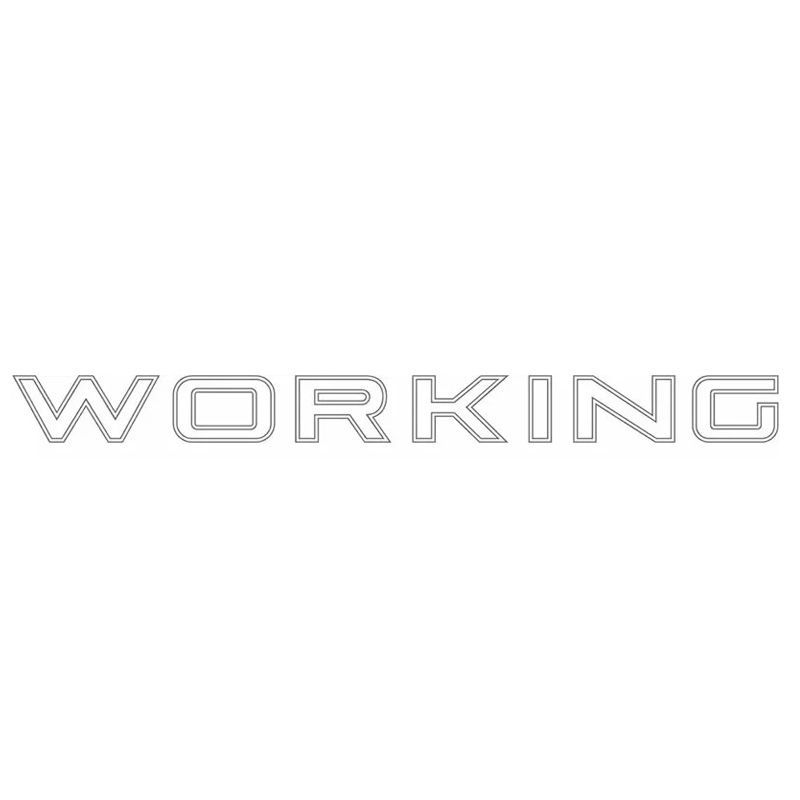 Faixa Traseira Fiat Strada Working Adesivo Prata Decorativo