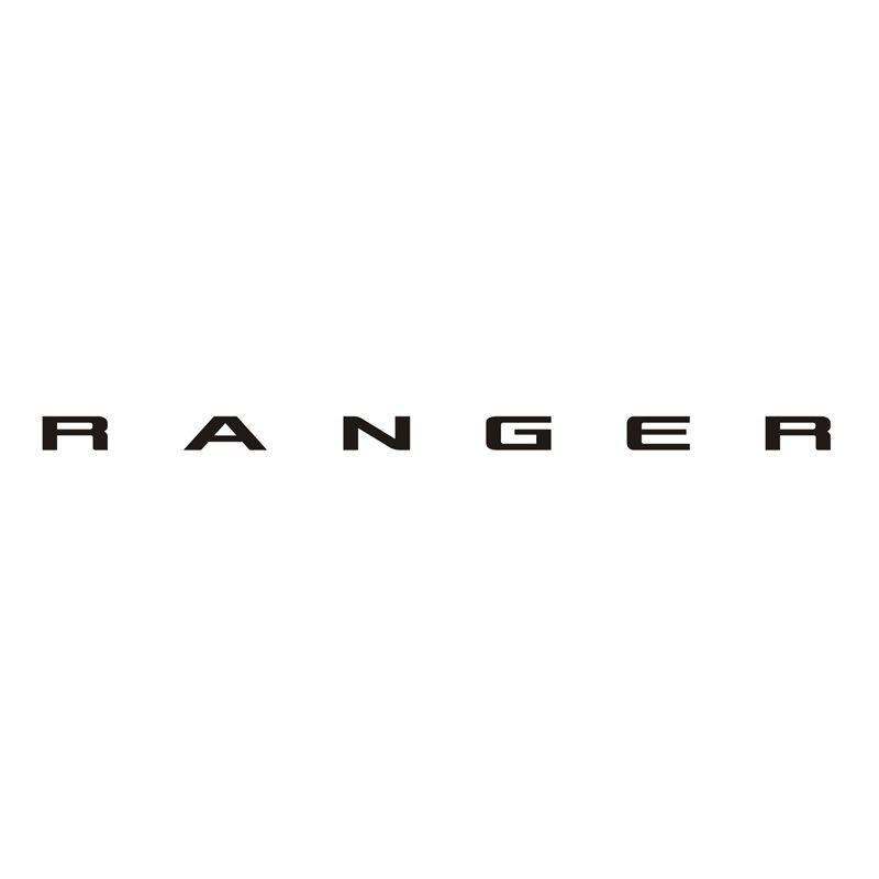 Faixa Traseira Ford Ranger 2013/ Adesivo Preto Decorativo
