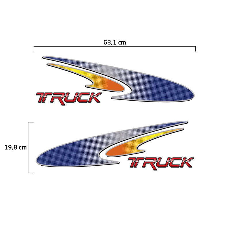 Faixa Truck L 1620 1720 2004 Adesivo Portas Mercedes-Benz Mb