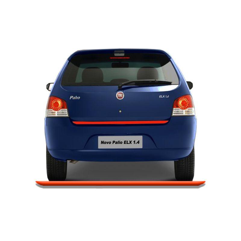 Friso Do Porta Malas Fiat Palio 2008/2012 Vermelho Refletivo