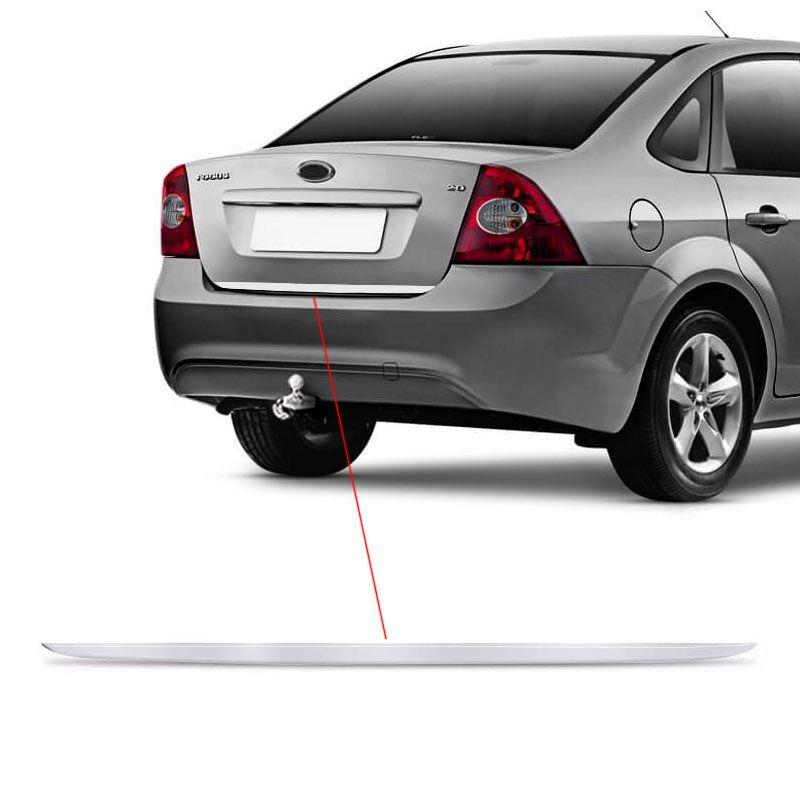 Friso Do Porta-malas Focus Sedan Até 2014 Resinado Escovado