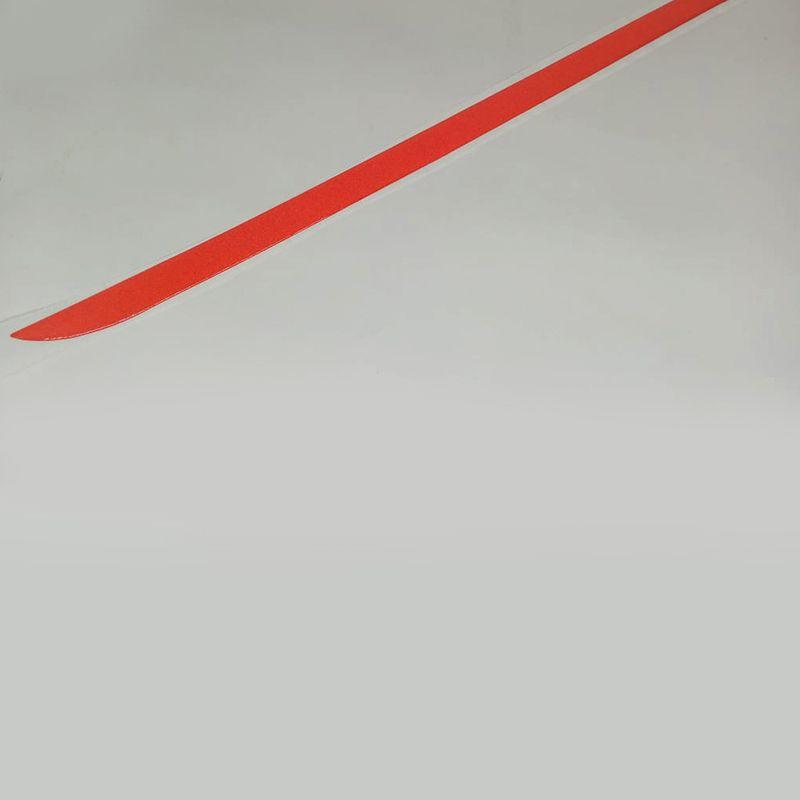 Friso Do Porta Malas Jac Motors J3 Hatch Vermelho Refletivo