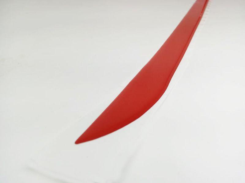 Friso Do Porta malas Onix Hatch Até 2016 Vermelho Refletivo