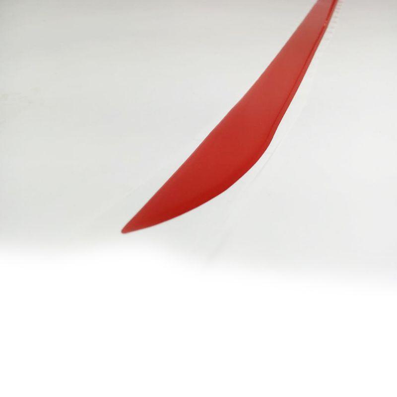 Friso Do Porta Malas Resinado Peugeot 307 Vermelho Refletivo