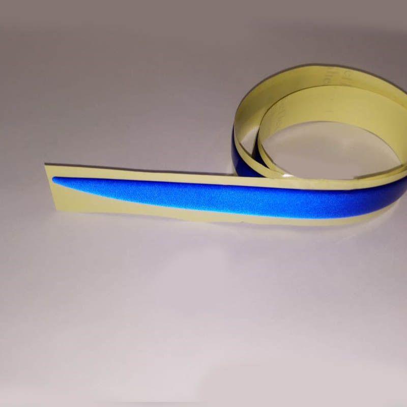Friso Do Porta Malas Sandero 2009 Até 2014 Azul Refletivo