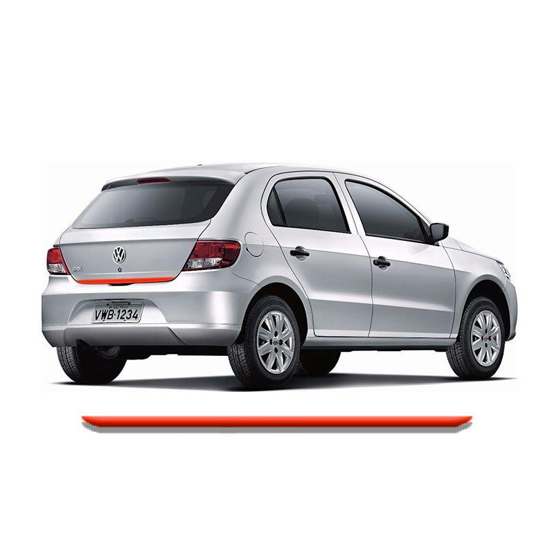 Friso Do Porta malas Volkswagen Gol G5 Vermelho Refletivo